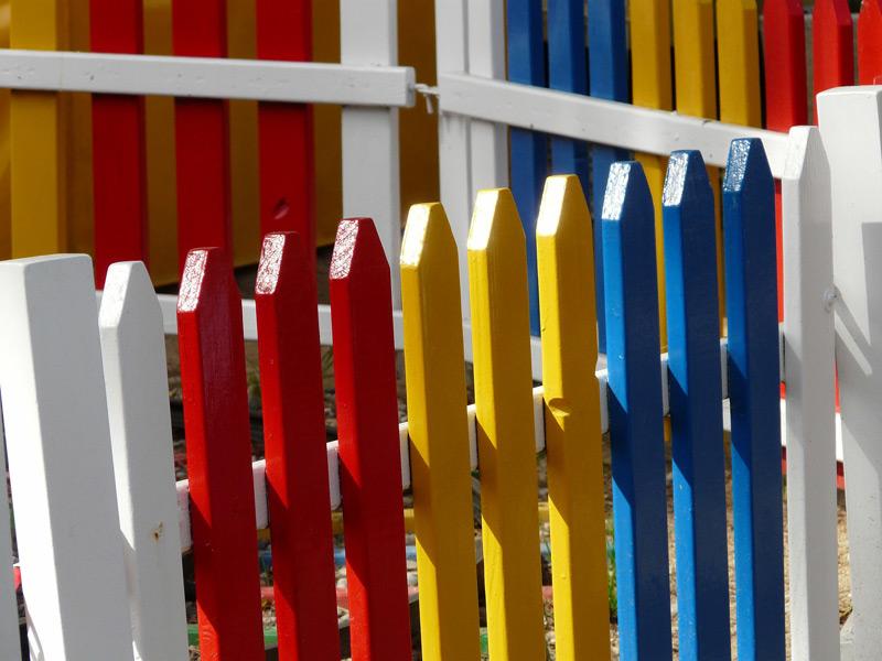 Fences Platinum Brush Painting