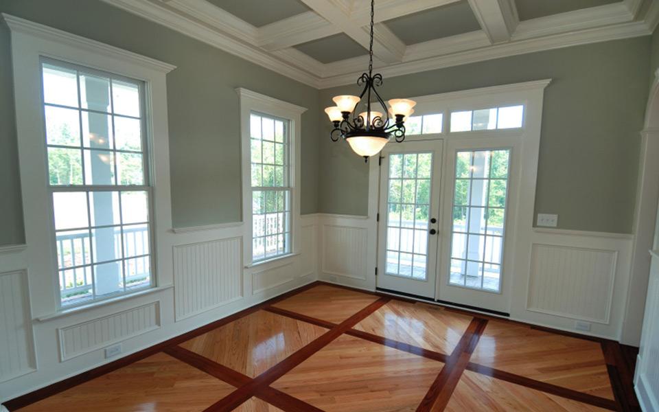 Interior Residential Platinum Brush Painting