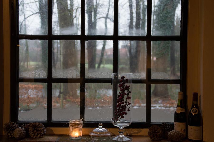 Interior Residential Windows Platinum Brush Painting